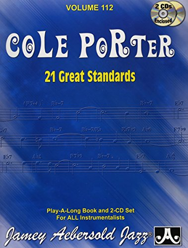 Play-A-Long Series, Vol. 112, Cole Porter: 21 Great Standards (Book & 2-CD Set) (Night And Day Sheet Music)
