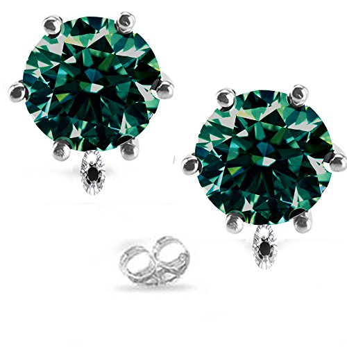 RINGJEWEL 3.51 ct VS2 Round Cut Solitair - Round Vs2 Earrings Shopping Results