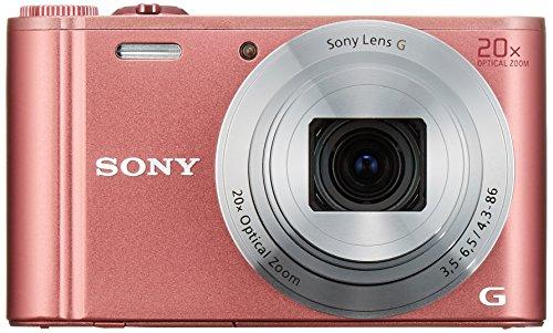 Sony WX350 18 MP Digital Camera (Pink)