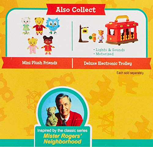 Tigey /& Exclusive Figure Pandy 10 Pack Includes: Daniel Dad /& Mom Tiger Friends Exclusive Daniel Tigers Neighborhood Friends /& Family Figure Set