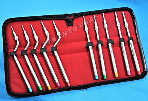 NEW GERMAN STAINLESS Sinus Lift Osteotomes Kit Straight Off Set Concave Dental Implant Instrument CE-A+ QUALITY by Cynamedusa (Image #3)