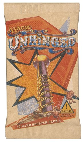 Magic the Gathering Unhinged Booster Pack 15 cards (Unhinged Booster Box)