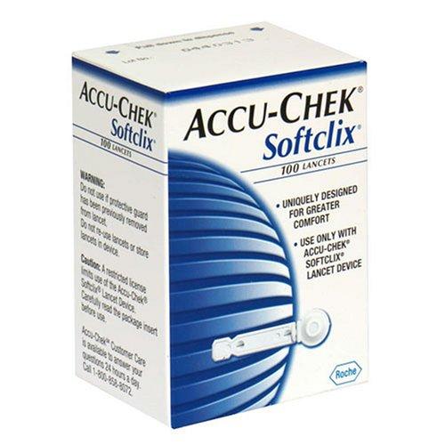 Accu-Chek Softclix lancettes - 100