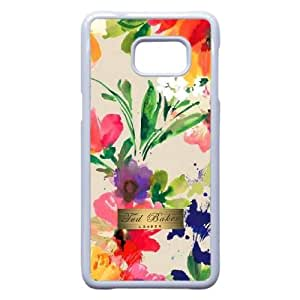 Samsung Galaxy S7 Edge Phone Case White Ted Baker Brand Logo Case Cover PP7U359126