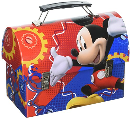 Disney Mickey Mouse Clubhouse Metal Workman Lunchbox/Utility Tin Carry-All
