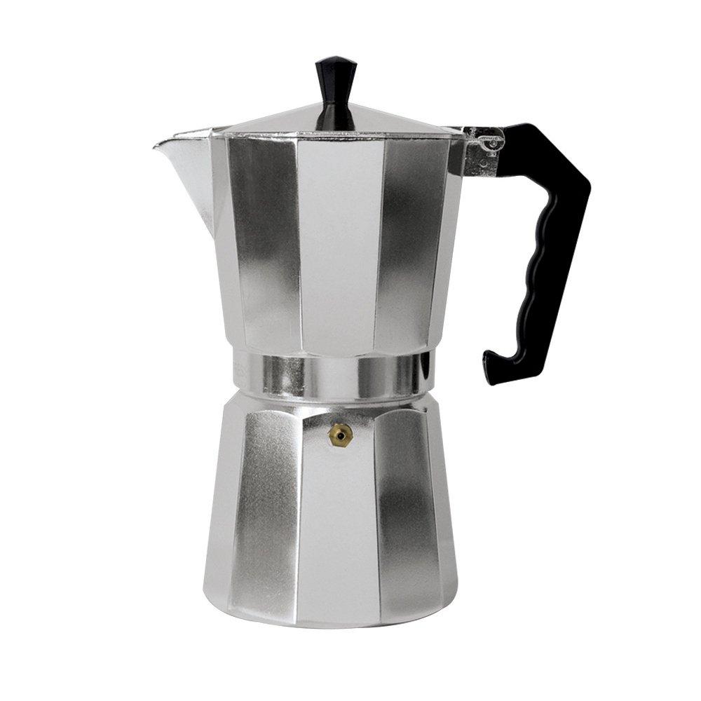 Primula Aluminum Espresso Maker - Aluminum - For Bold, Full Body Espresso – Easy to Use – Makes 3 Cups