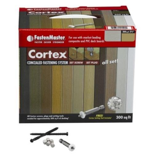 """UPC 608309418849, Fastenmaster Fmctx-az300trth Cortex Concealed Deck Fastening System, 2-3/4"""""""