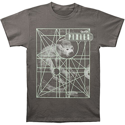 Ptshirt.com-18928-Pixies Men\'s Monkey Grid T-shirt Charcoal-B00PJ6J27C-T Shirt Design