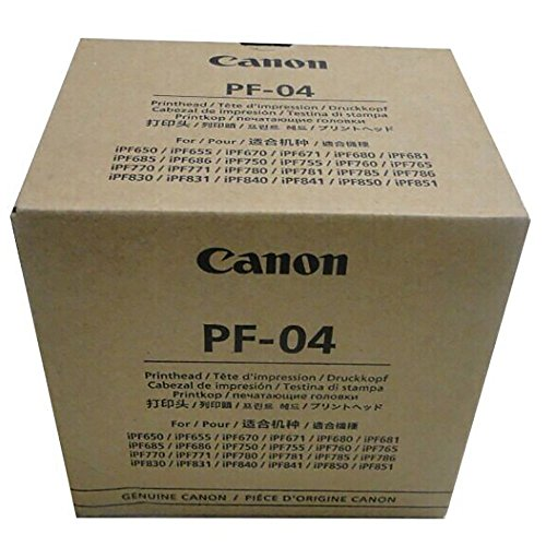 Printhead Carriage Assembly - Canon PF-04 Printhead for IPF650 IPF655 IPF750 IPF760 IPF765 IPF755 Printer Head