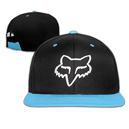 Toddlers Fox Logo RoyalBlue Adjustable Snapback Hiphop Baseball Hat One Size