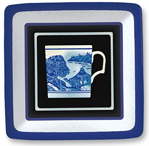 (New Year Blue Willow Teacup Design 7