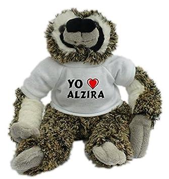Bradypus Camisetaciudad Con La Amo De En Alzira Peluche O8PZN0Xnwk