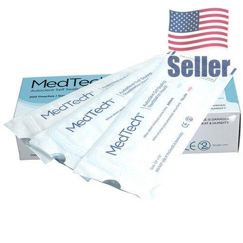 Autoclave Sterilization Pouches | Self-Sealing - Assure Implements Stay Sterile - 200 pcs