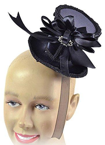 (Bristol Novelty BH588 Ladies Tall Hat Black Mini, Womens, One)