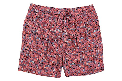 Free People Womens Floral Print Pleated Casual Shorts Pink S