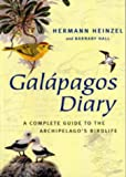 Front cover for the book Galapagos Diary by Hermann Heinzel