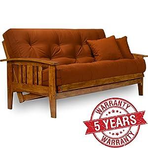 westfield wood futon frame full size