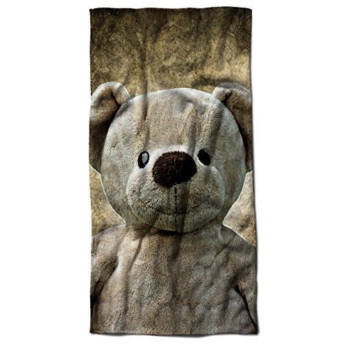 Teddy Bear Beach Towel (Soft Teddy Bear Terry)