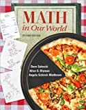img - for by Allan Bluman,by Dave Sobecki Mathematics in Our World (Student Solutions Manual)(text only)2nd(Second) edition[Paperback]2010 book / textbook / text book