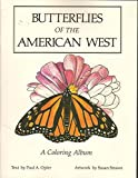 img - for Butterflies of the American West: A Coloring Album book / textbook / text book