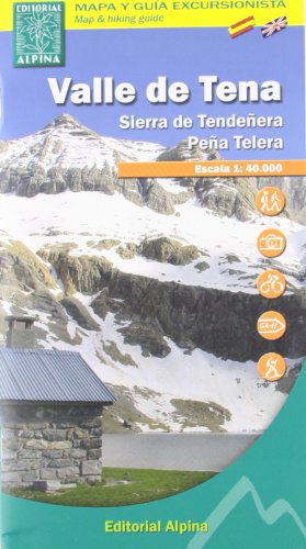 Descargar Libro Valle De Tena - Sierra De Tendeñera, Mapa Excursionista. Escala 1:40.000. Español, English. Alpina Editorial. Vv.aa.