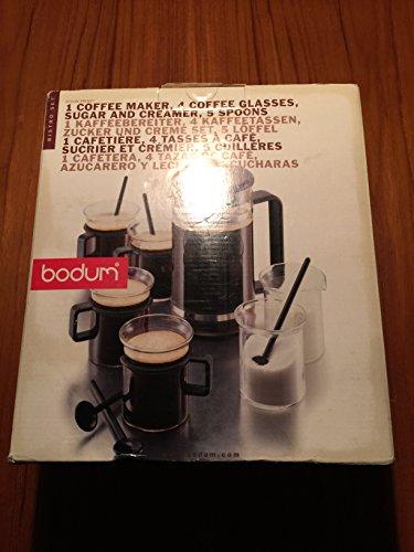 Bodum K1590-01 Bistro 12-Piece Gift Set with 8-Cup Coffee Press