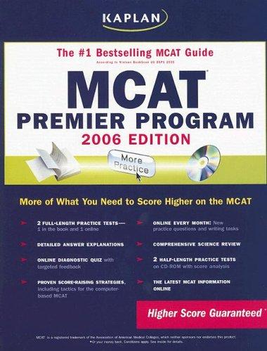 MCAT 2006 Premier Program (KAPLAN MCAT PREMIER PROGRAM)