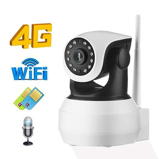 Cámara 4G 3G Tarjeta Sim Cámara IP 1080P 720P HD Inicio WiFi ...