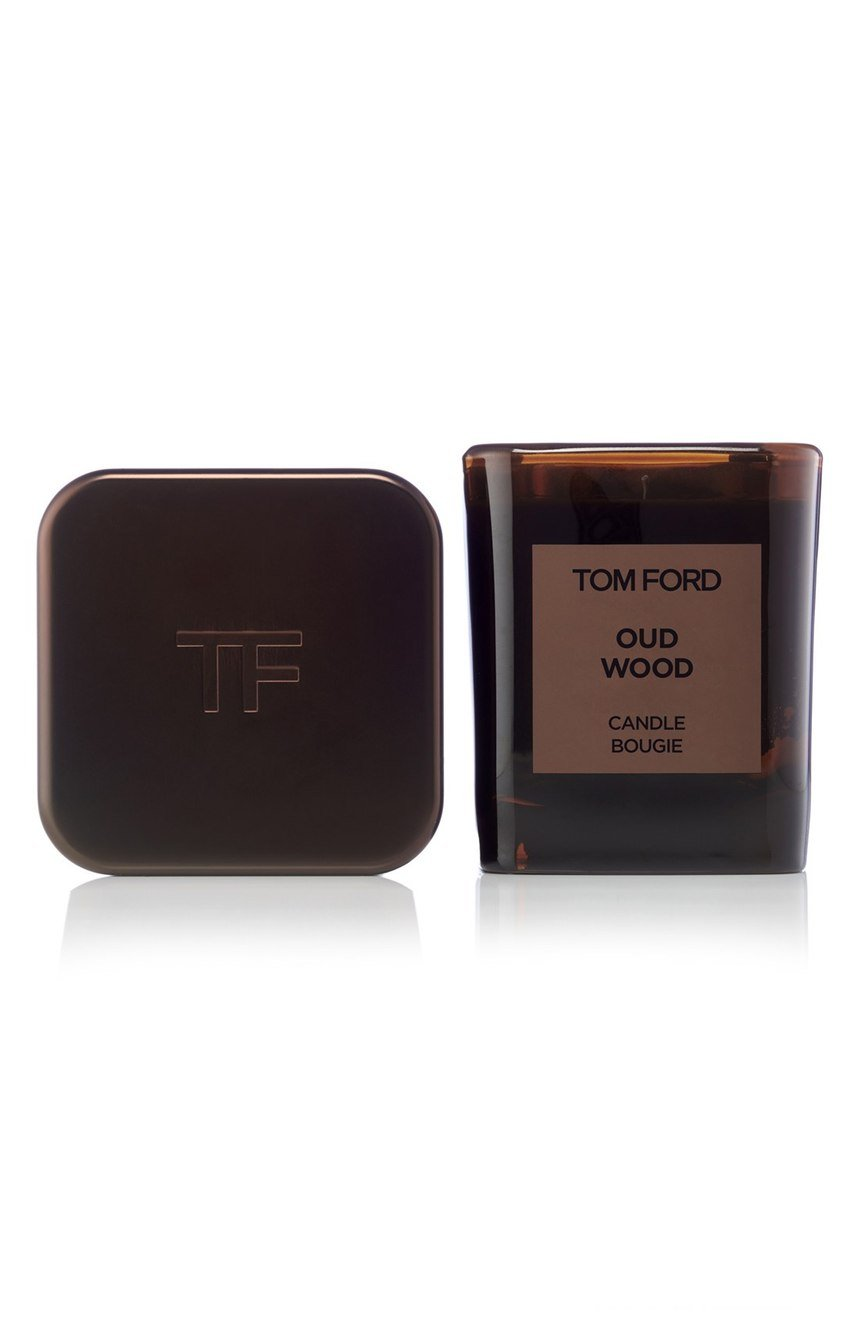 Tom Ford Candle Private Blend 'Oud Wood' Height 2.25 inc sealed