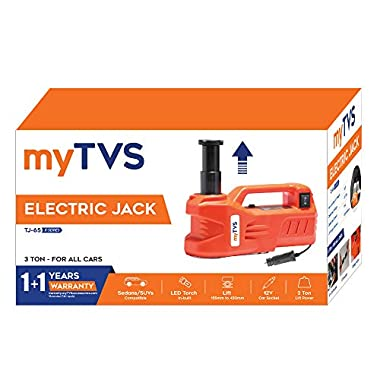 myTVS TJ-65 3 Ton Car Electronic Jack for All Cars 10