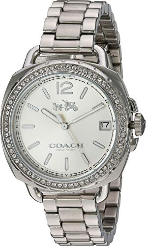 Coach Women's 14502588 Tatum Stainless Steel Crystal Glitz Watch