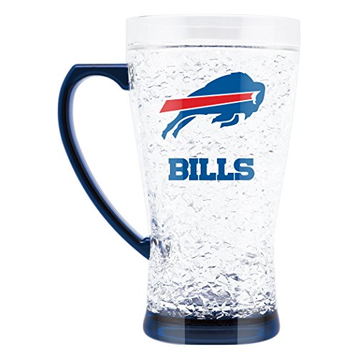 - NFL Buffalo Bills 16oz Crystal Freezer Flared Mug