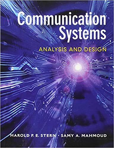 Communication systems analysis and design harold pe stern samy communication systems analysis and design 1st edition fandeluxe Image collections