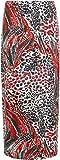 WearAll Women's Animal Leopard Spot Print Long Stretch Maxi Skirt - Black - US 12 (UK 16)