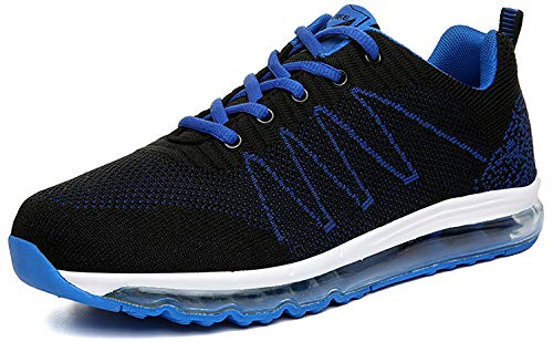 Sportive 3 Casual blu Corsa Donna Uomo Basse all'Aperto da Sneakers Running Air Interior Scarpe Fitness Ginnastica VITIKE 0AqOZq