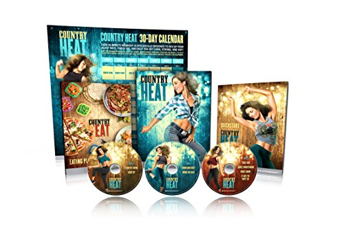 - Beachbody Country Heat Dance Workout DVD by Autumn Calabrese [Base kit]