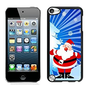 Provide Personalized Customized Santa Claus Black iPod Touch 5 Case 35 by icecream design