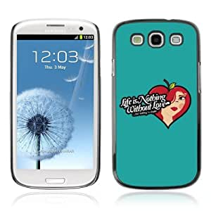 Designer Depo Hard Protection Case for Samsung Galaxy S3 / Life & Love