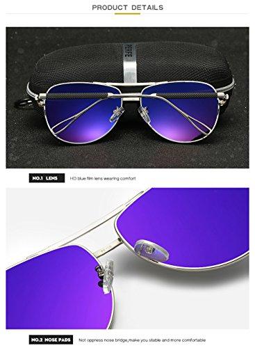 Gafas para Polarizadas Hombre para Sol Aviator Mujer De C3 UV 400 Protección C2 O0xYrqO