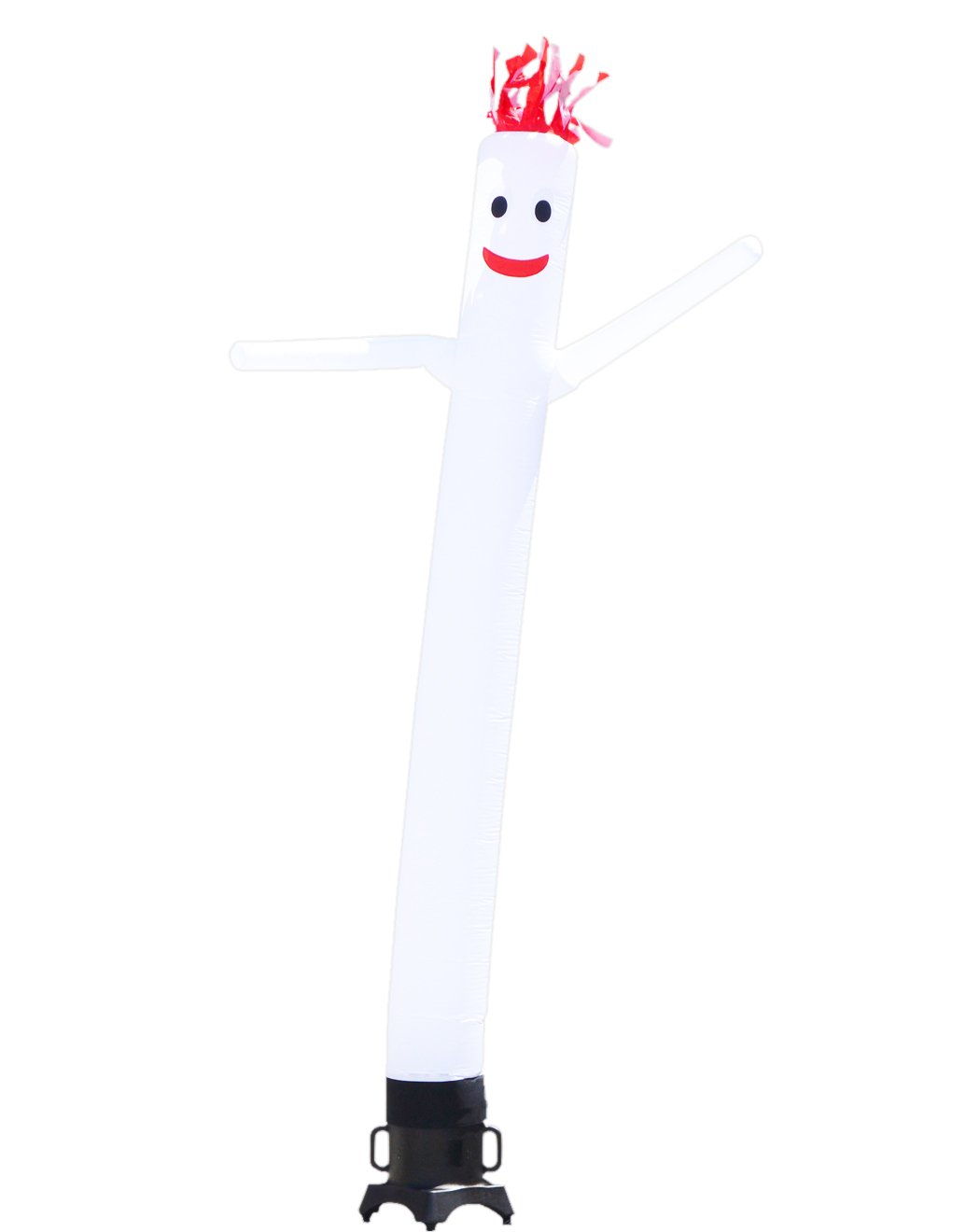 LookOurWay Air Dancers Inflatable Tube Man Complete Set with 1/2 HP Sky Dancer Blower, 10-Feet, White by LookOurWay