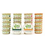 Pure Spoon Organic Stage One Baby Food Sampler, 4.2oz (Pack Of 24)