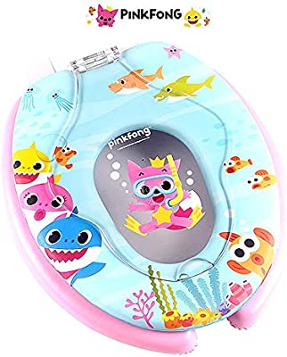 Brilliant Baby Shark Toilet Seat With Built In Baby Kids Potty Evergreenethics Interior Chair Design Evergreenethicsorg