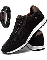 Tênis Sapatênis Esporte Masculino Confortável Sapatofran Com Relógio Slin