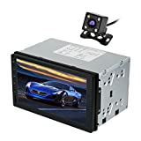 KKmoon Android 5.0 1GB RAM 1024600 Car GPS 2Din Radio Universal Car Stereo Player with Rearview Camera