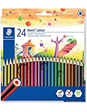 Staedtler 185 C24 Noris Färgpennor, Flerförgad, Paket med 24
