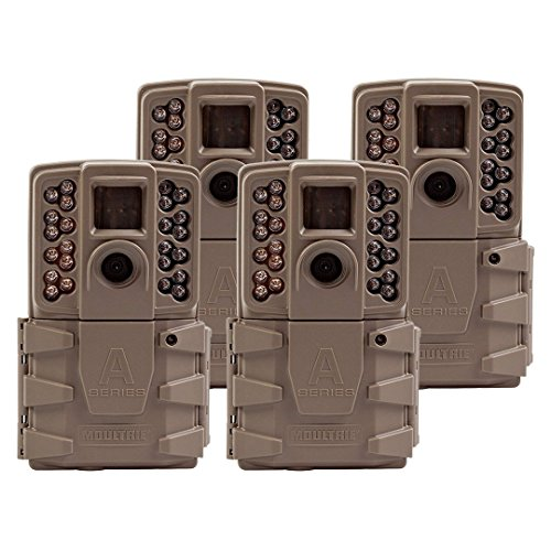 - Moultrie 2017 A 30 Game Camera | 0.7s Trigger Speed Mobile Compatible (4 Pack)