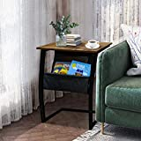 Sofa Side End Tables Living Room, Rustic Accent