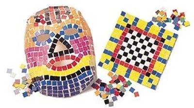 Roylco Craft Double Color Mosaic Squares Bag