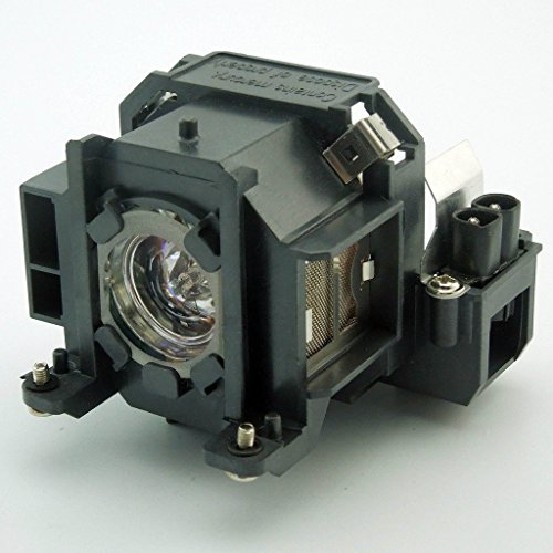 1715 Projector Lamp - QueenYii Replacement Lamp with Housing for EPSON POWERLITE 1715 PowerLite 1715c POWERLITE 1717 PowerLite 1705c PowerLite 1710c POWERLITE 1710 POWERLITE 1705 Projector Lamp