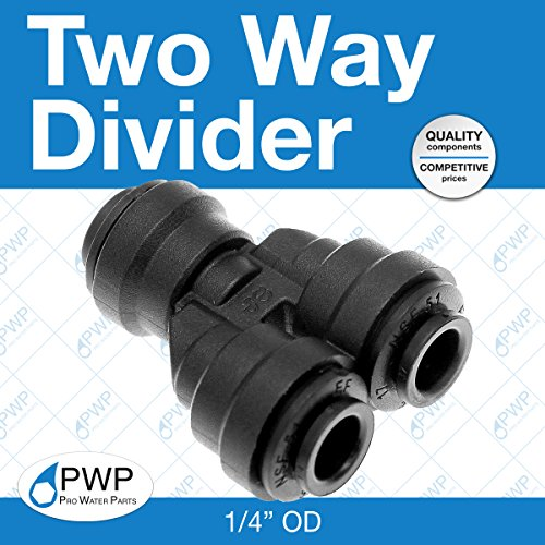 (John Guest Two Way Divider 1/4
